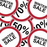 Winter big sale banner. Winter banner big sale and discounts. Vector illustration Stock Photo