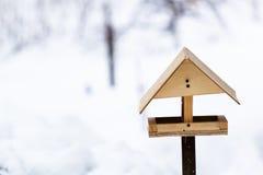 Winter bird feeders Stock Images