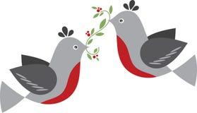 Winter Birds Stock Photos