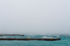 Winter on Black Sea royalty free stock photos