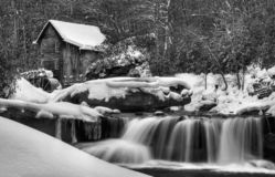 Winter Blankets The Grist Mill royalty free stock photo