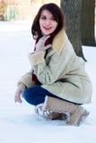 Winter blast Royalty Free Stock Photography