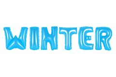 Winter, blaue Farbe Lizenzfreie Stockfotos