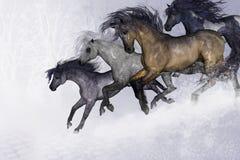 Winter Bliss stock illustration