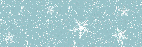 Winter blizzard, seamless background Royalty Free Stock Photo