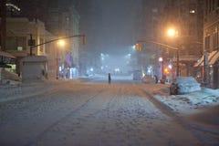 Winter blizzard Royalty Free Stock Photos