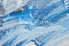 Winter blue background Stock Images