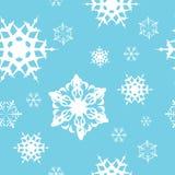Winter - blue christmas seamless pattern Stock Photo