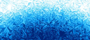 Winter blue ice frost background. Eps8. RGB Global colors. One editable gradient is used for easy recolor Stock Photo