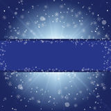 Winter blue xmas  background Royalty Free Stock Photos