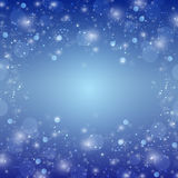 Winter blue xmas  background Royalty Free Stock Photo