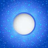 Winter blue xmas  background Stock Image