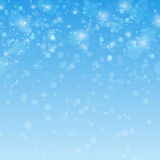 Winter blue xmas  background with place for text Stock Photos