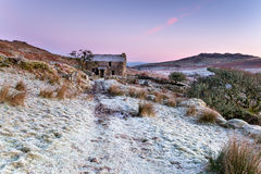 Winter on Bodmin Moor Royalty Free Stock Photos