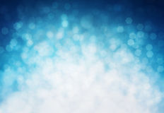 Winter bokeh background Stock Image