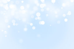 Winter bokeh background Royalty Free Stock Image