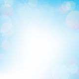 Winter bokeh background for christmas,  Royalty Free Stock Photos