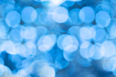 Winter bokeh Stock Photos