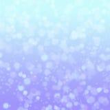 Winter bokeh stock image