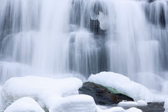 Winter, Bond Falls Stock Photos
