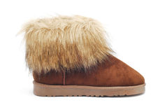 Winter boot Royalty Free Stock Images