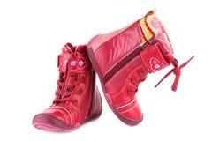 Winter boots Stock Photos