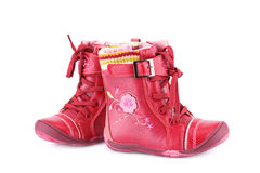 Winter boots Royalty Free Stock Photos