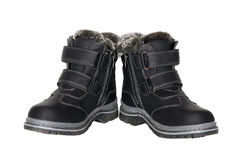 Winter boots for children Royalty Free Stock Photography