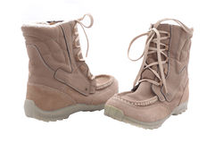 Seasonal boots Stock Photos