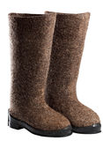 Winter boots, Royalty Free Stock Photos