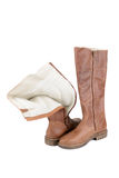 Winter boots Royalty Free Stock Photo
