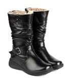 Winter boots Stock Image