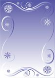 Winter border Royalty Free Stock Images