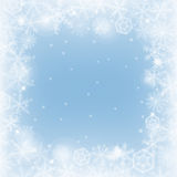 Winter border Stock Photography