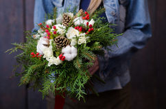 Winter bouquet Stock Photography