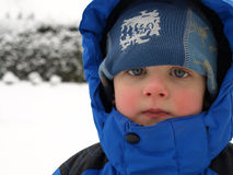 Winter boy Royalty Free Stock Image