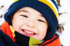 Winter Boy Stock Photos