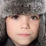 Winter boy Royalty Free Stock Photo