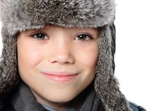 Winter boy Royalty Free Stock Photography