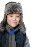 Winter boy Royalty Free Stock Image