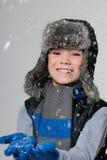 Winter boy Royalty Free Stock Photos