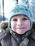 Winter boy portrait Royalty Free Stock Image