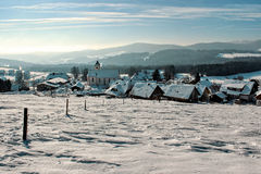 Winter in Breitnau in the Black Forest, Germany Stock Image