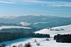 Winter in Breitnau in the Black Forest, Germany Royalty Free Stock Image