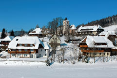 Winter in Breitnau in the Black Forest, Germany Royalty Free Stock Images