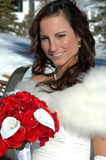 Winter Bride Royalty Free Stock Image
