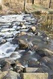 Winter brook Stock Image