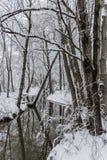 Winter Brook Stock Photos