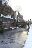 Winter in Bruges Stock Image