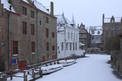 Bruges Winter Stock Photo